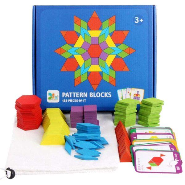 Геометрични фигури (Монтесори) Pattern Blocks