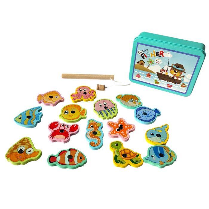 Образователна игра Funny Fisher кутия и въдица