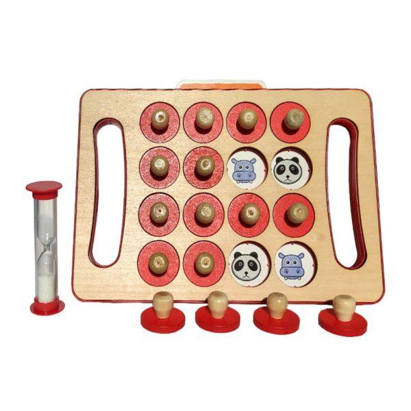 Игра за памет Memory Chess (Детска игра) часовник