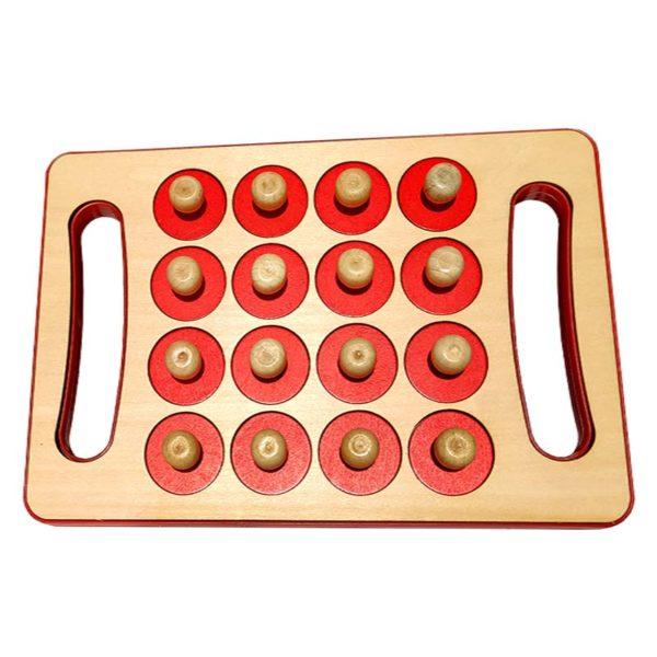 Игра за памет Memory Chess (Детска игра) капачета