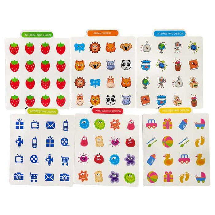 Игра за памет Memory Chess (Детска игра) шаблони 2