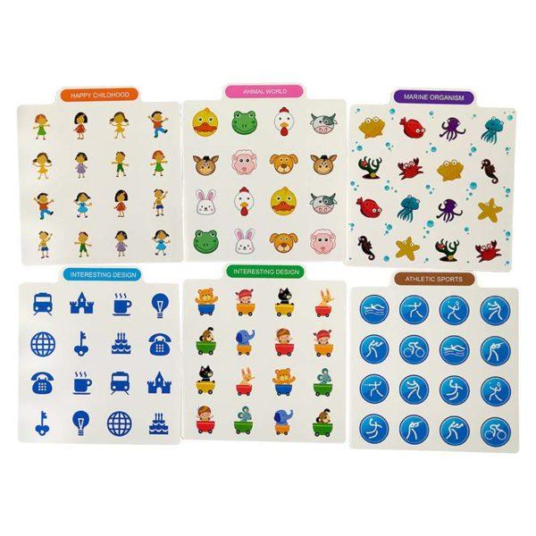 Игра за памет Memory Chess (Детска игра) шаблони