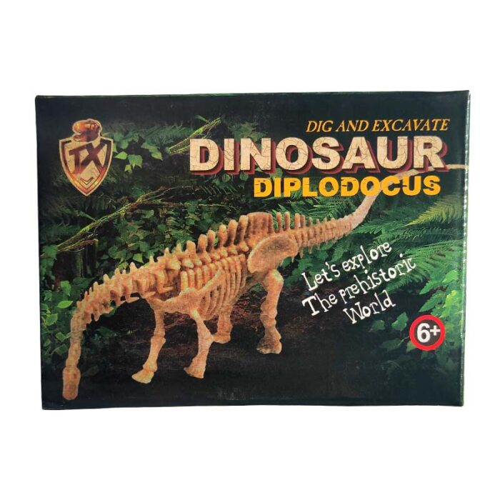 Изкопай скелет на динозавър - Диплодок