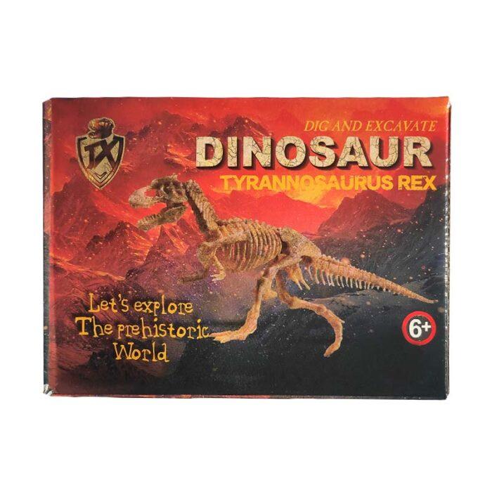 Изкопай скелет на динозавър - Тиранозавър Рекс кутия