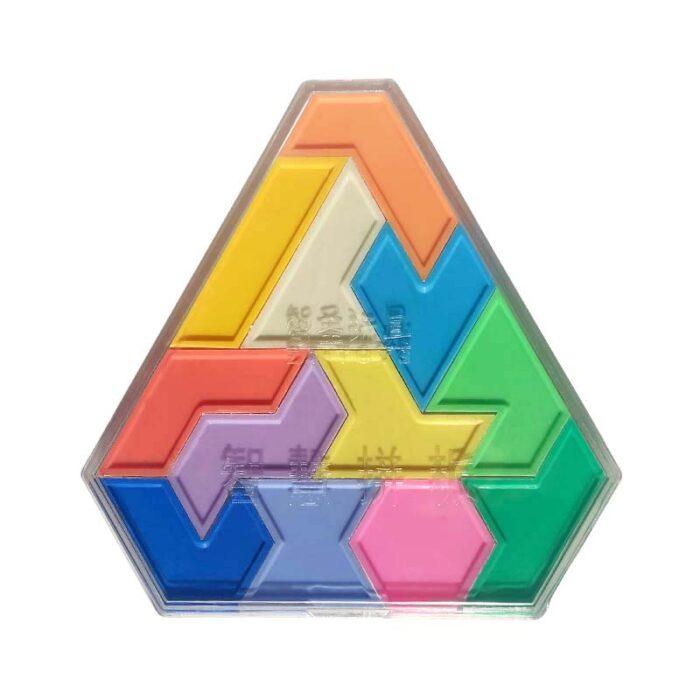 Логическа игра геометрични фигури елементи