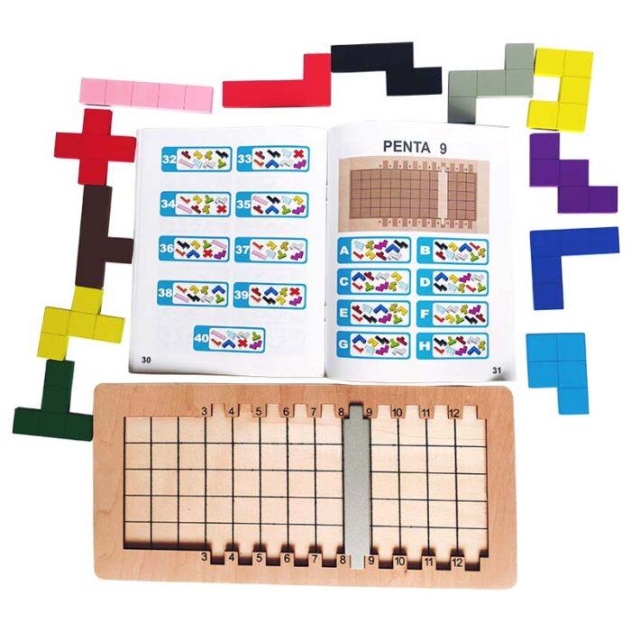 Логическа игра Катамино тетрис елементи и книжка
