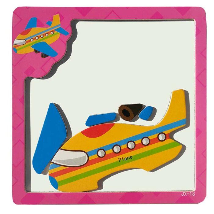 Магнитен пъзел - Самолет