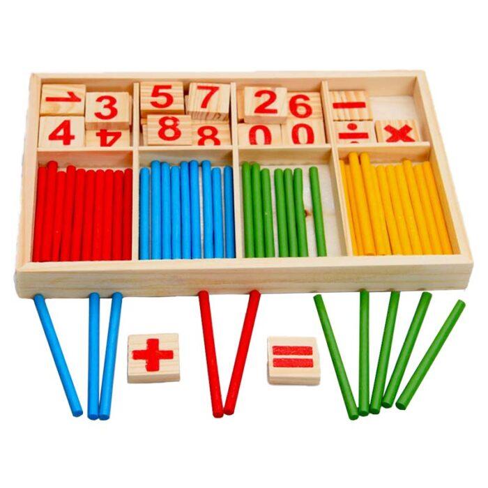 Образователна игра intelligence sticks (Игра за смятане) пресмятане