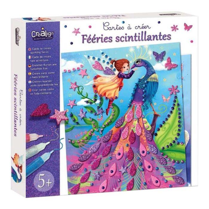 Детски творчески комплект - Блестящи феи кутия