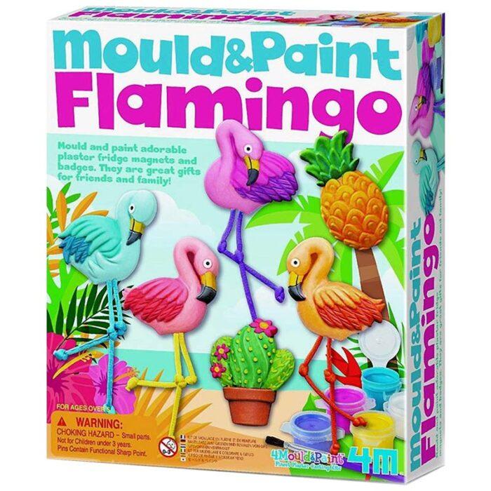 Моделирай и оцвети - Фламинго