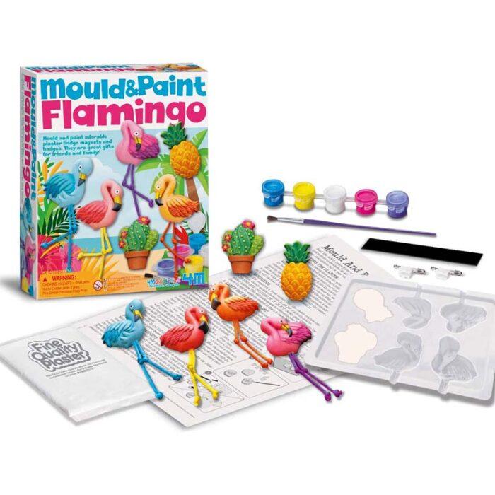Моделирай и оцвети - Фламинго материали