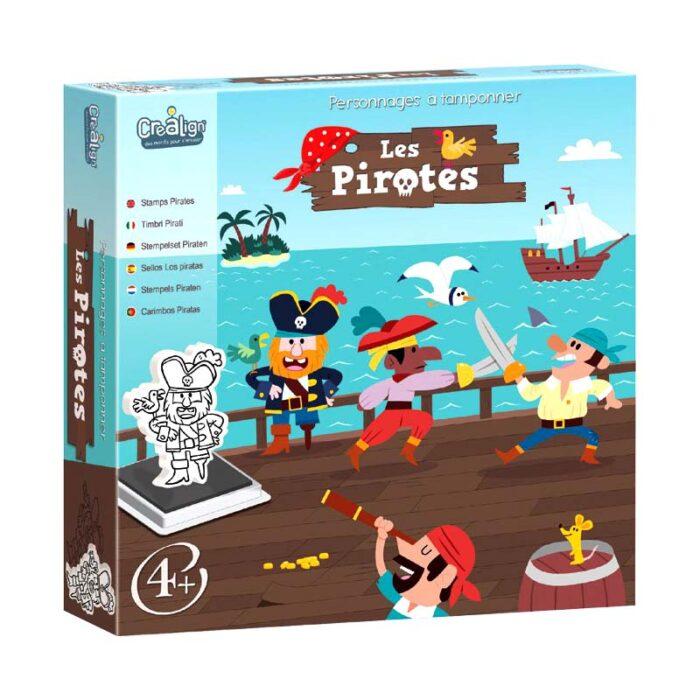 Рисунки с печати - Пирати кутия лице
