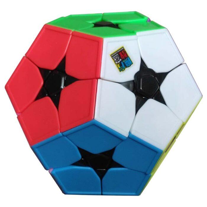 Рубик куб KibiminxMeilong Stickerless червена и бяла страна