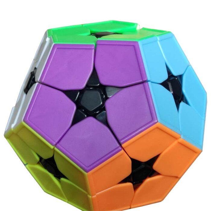 Рубик куб KibiminxMeilong Stickerless лилава