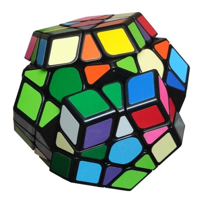Рубик куб - Megaminx QiYi Speed (Додекаедър) разбъркан завъртян