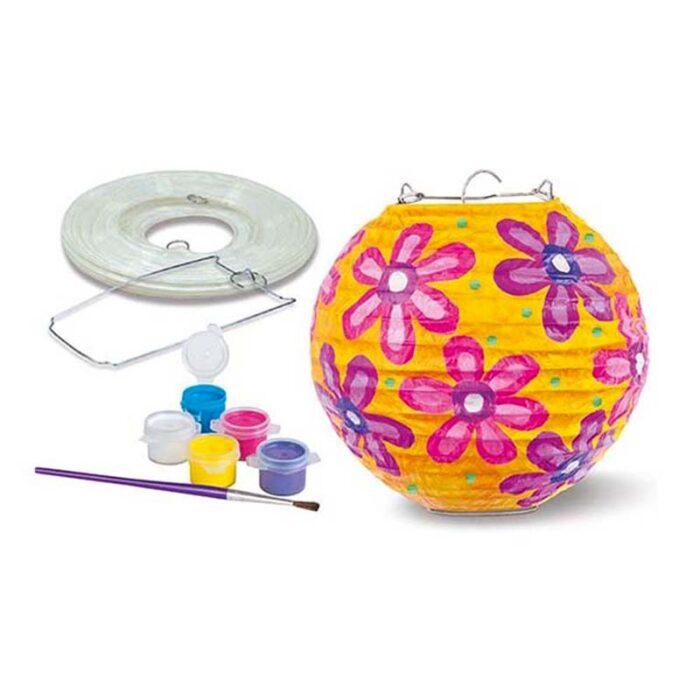 Творческа игра - Фенер от хартия фенер и бои