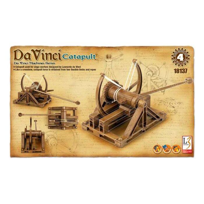 3D модели – Леонардо да Винчи – Катапулт