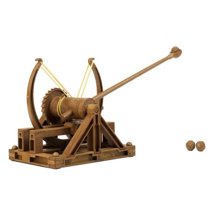 3D модели – Леонардо да Винчи – Катапулт зареден