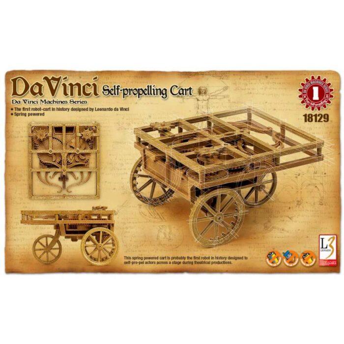 3D модели - Леонардо да Винчи - Самоходна количка