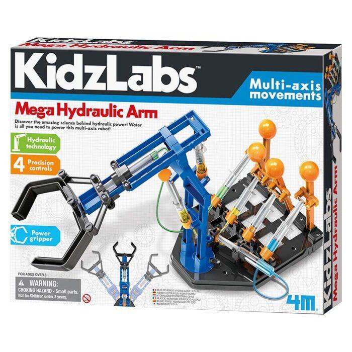 Детска лаборатория - Хидравлична ръка