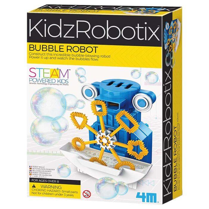 Детска лаборатория - Робот за сапунени мехури