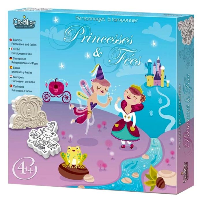Детски творчески комплект – Принцеси и Феи