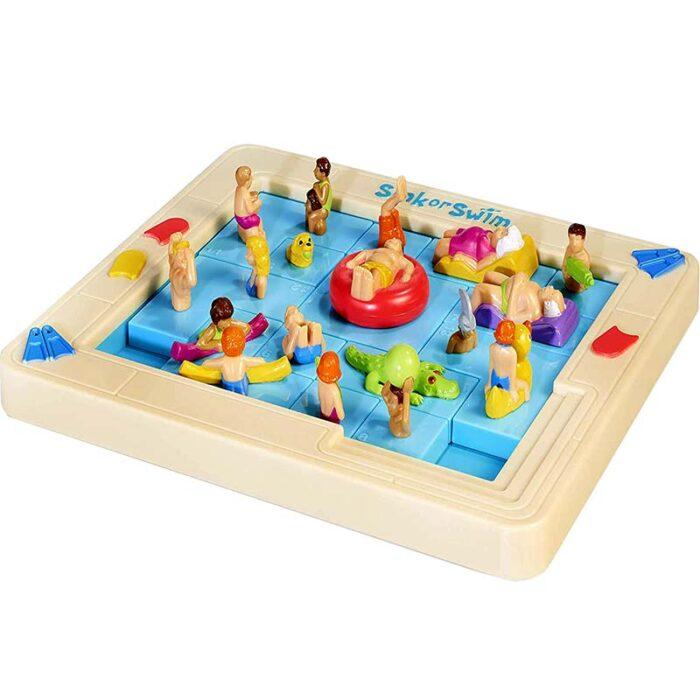 Логическа игра - Потъни или Плувай басейн