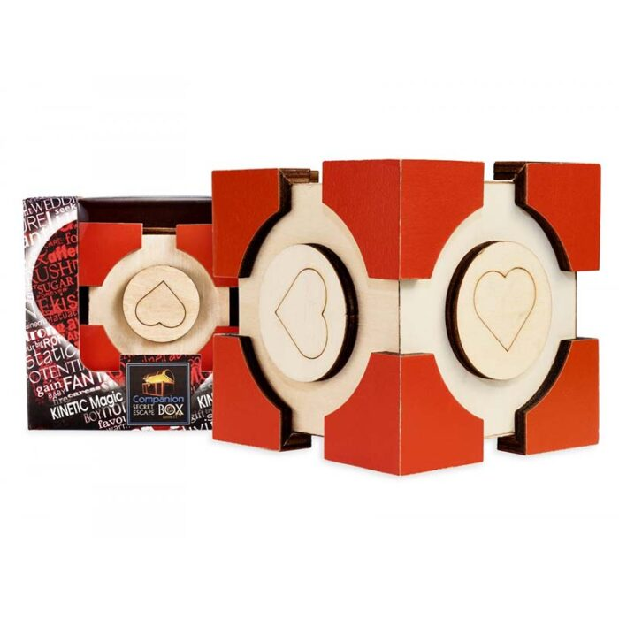 Логическа игра - Тайна секретна кутия - Companion Сърце