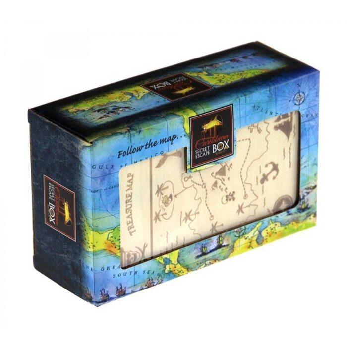 Логическа игра - Тайна секретна кутия Карибско съкровище