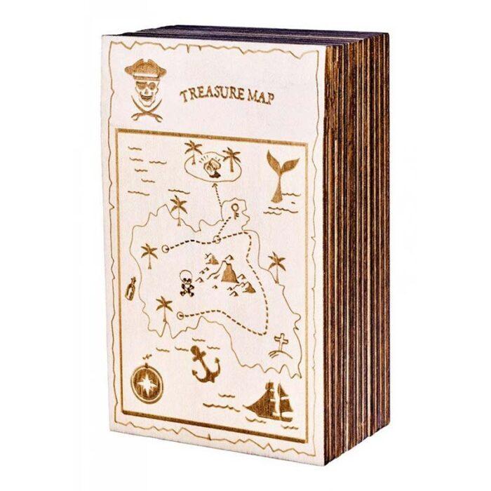 Логическа игра - Тайна секретна кутия Карибско съкровище кутия