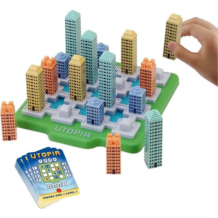 Логическа игра - Утопия град с карти