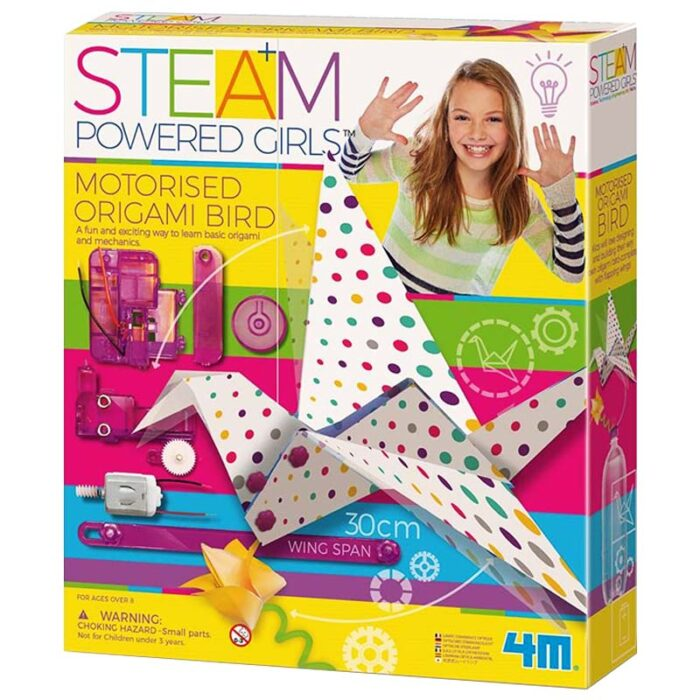 Образователен комплект - Оригами със задвижване Птица