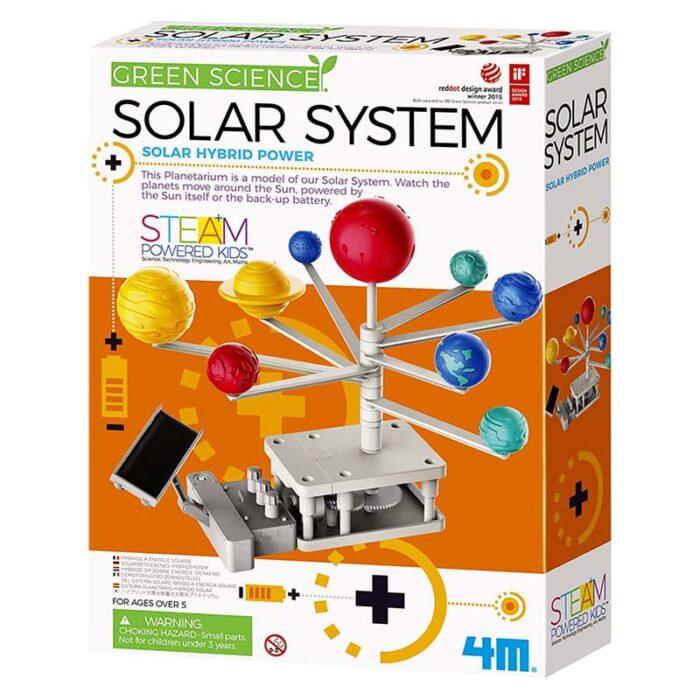 Зелена наука - Слънчева система с хибриден панел за задвижване