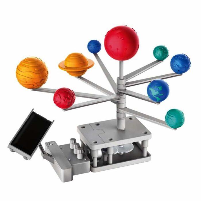 Зелена наука - Слънчева система с хибриден панел за задвижване планетариум