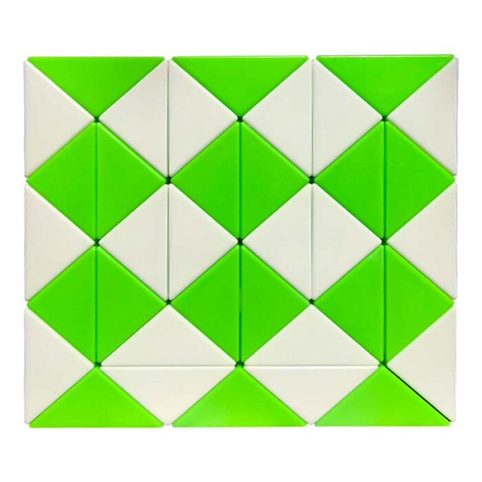 Змия на Рубик – 36 елемента зелена
