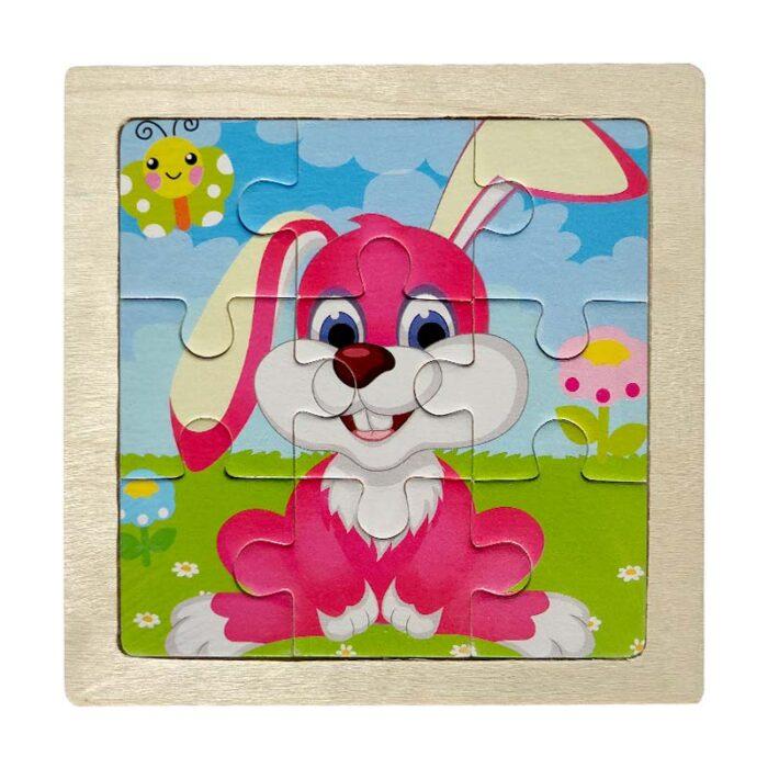 Детски пъзел - Зайче
