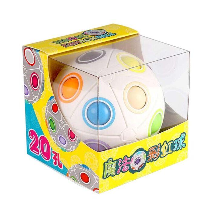 3Д Голяма Фиджет Топка - 20 цвята (Fidget ball) кутия